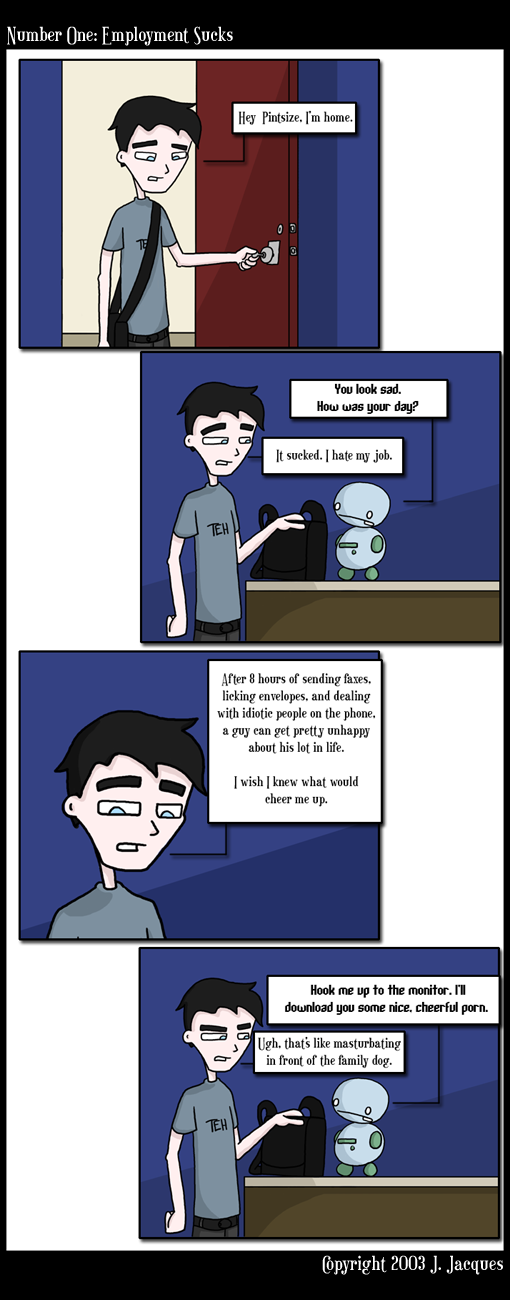 Questionable content comic strip