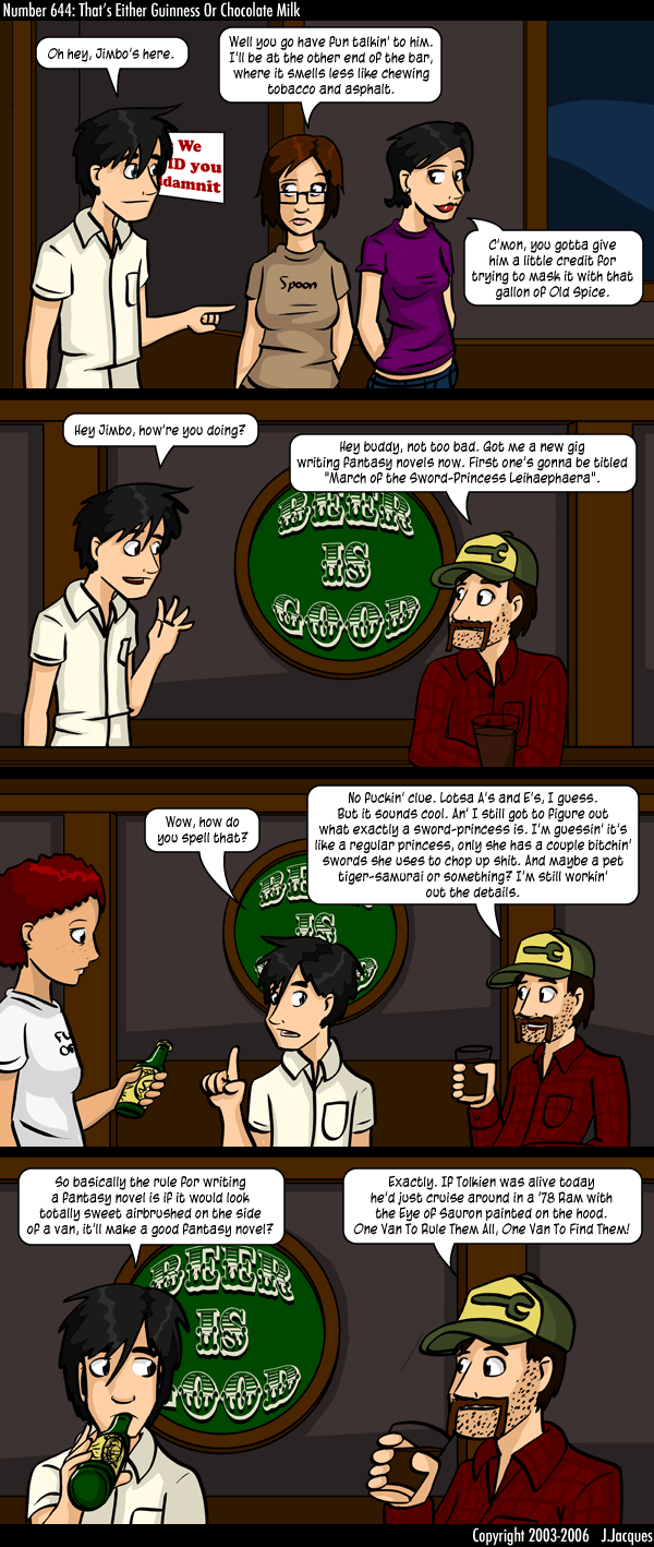 Questionable Content: It can't be a bad decision, it ...